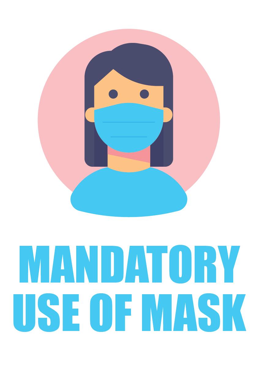 mandatory use of mask 1