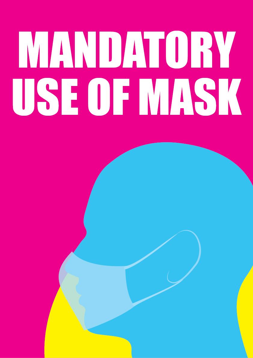 mandatory use of mask 2
