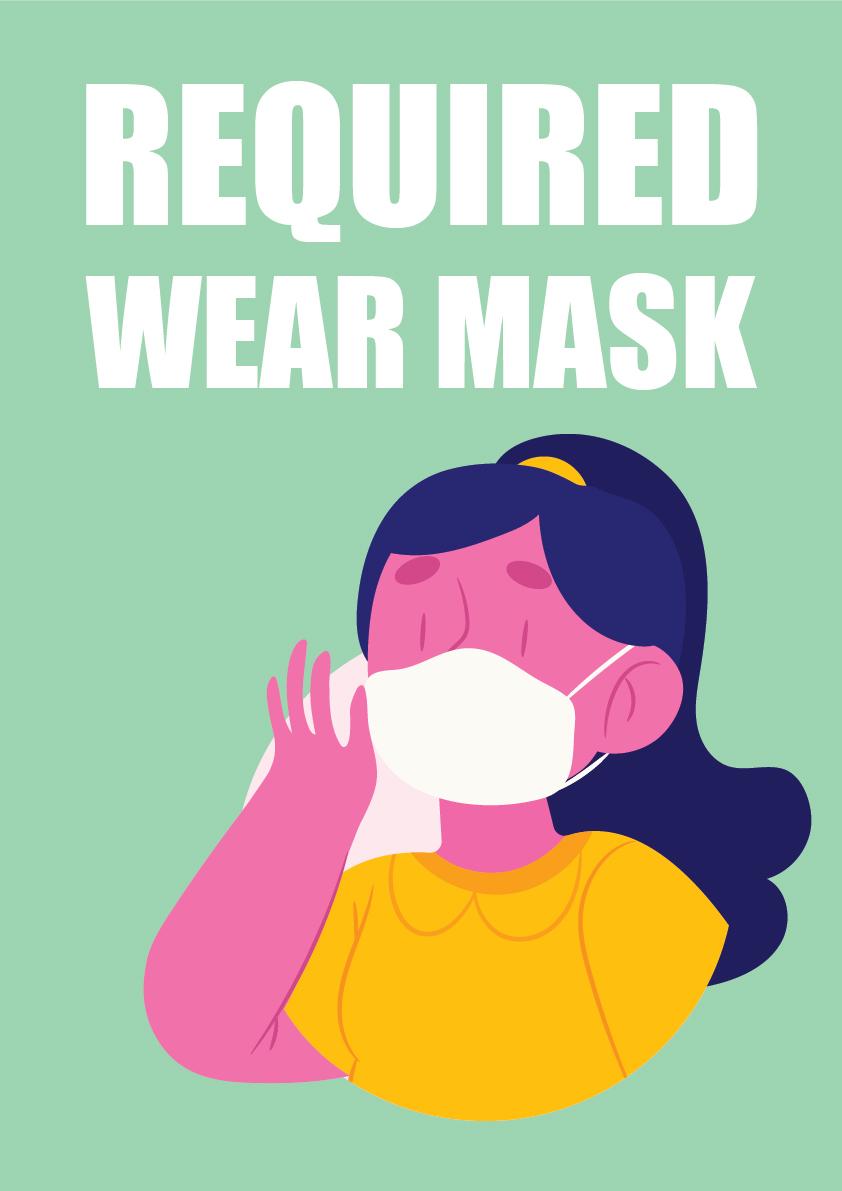 wear mask 7