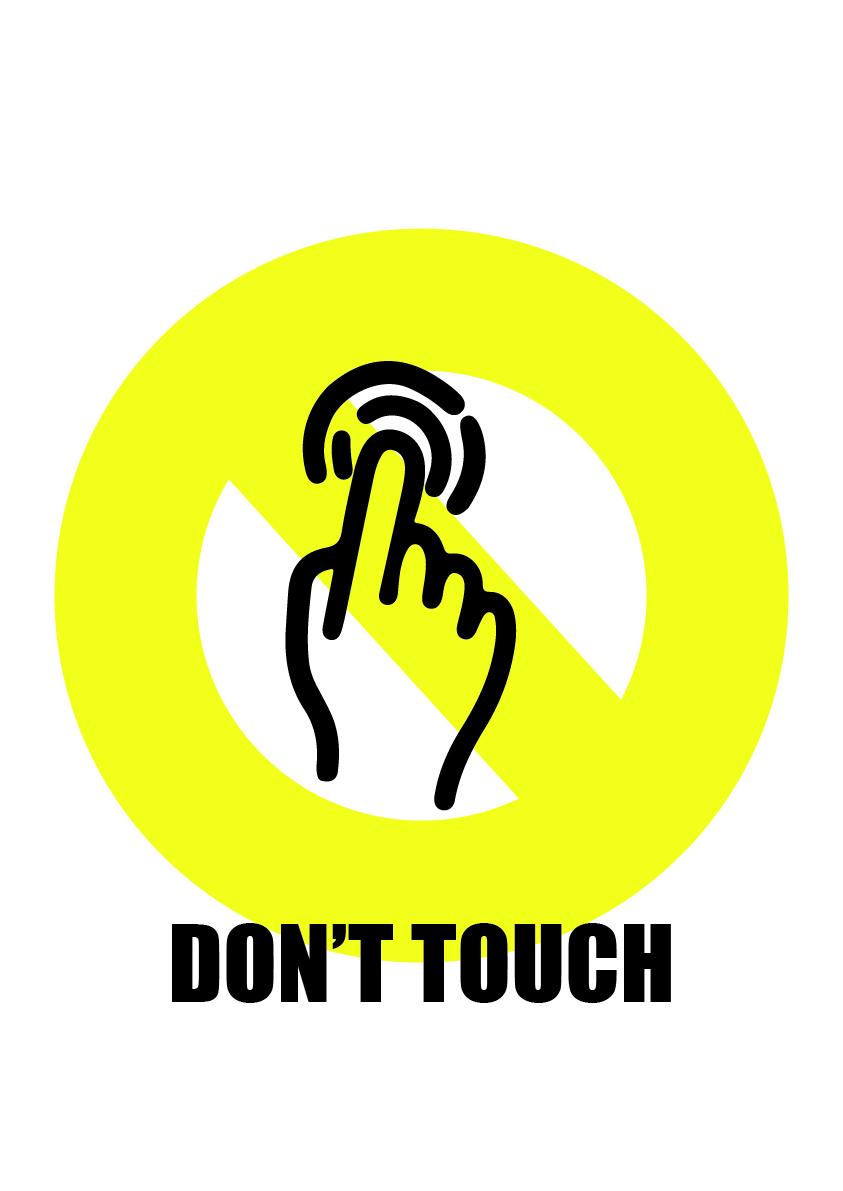 dont touch 1