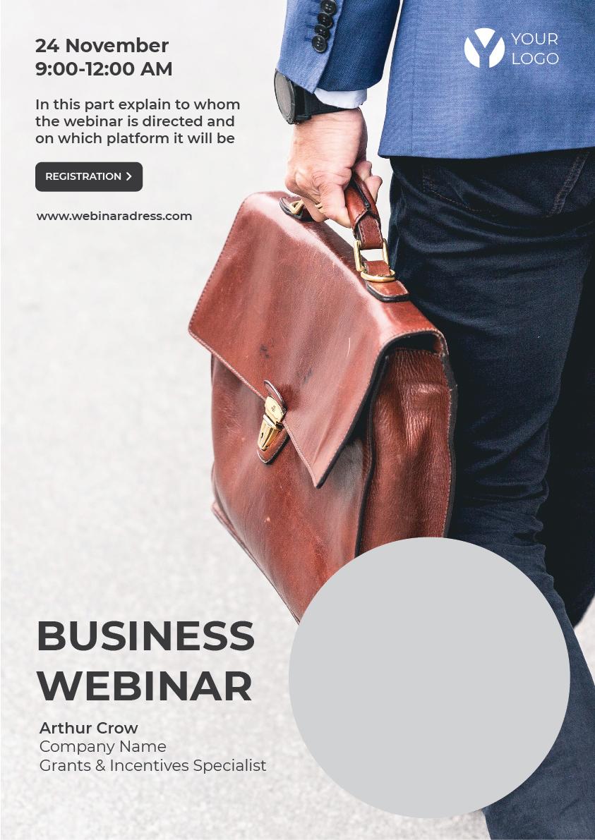 free poster business webinar 03