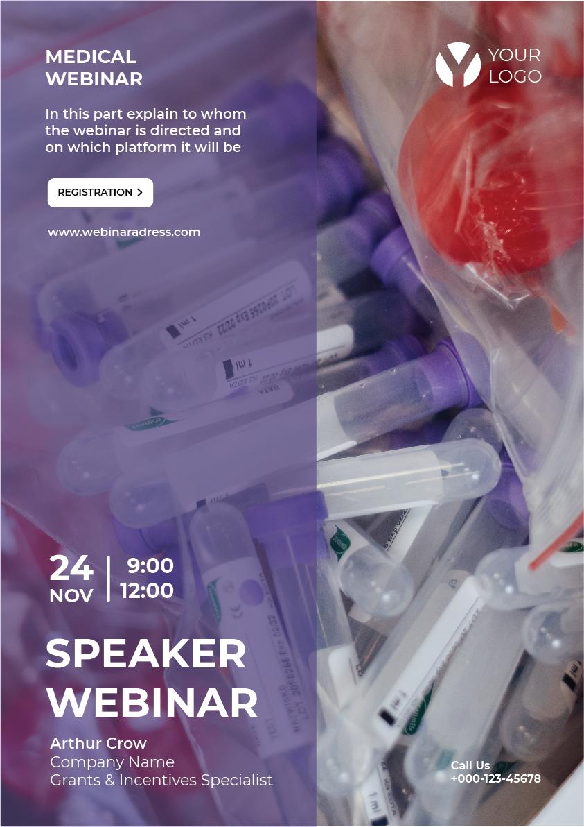 free poster medical webinar 01