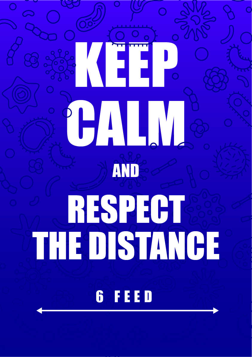 respect the distance 1