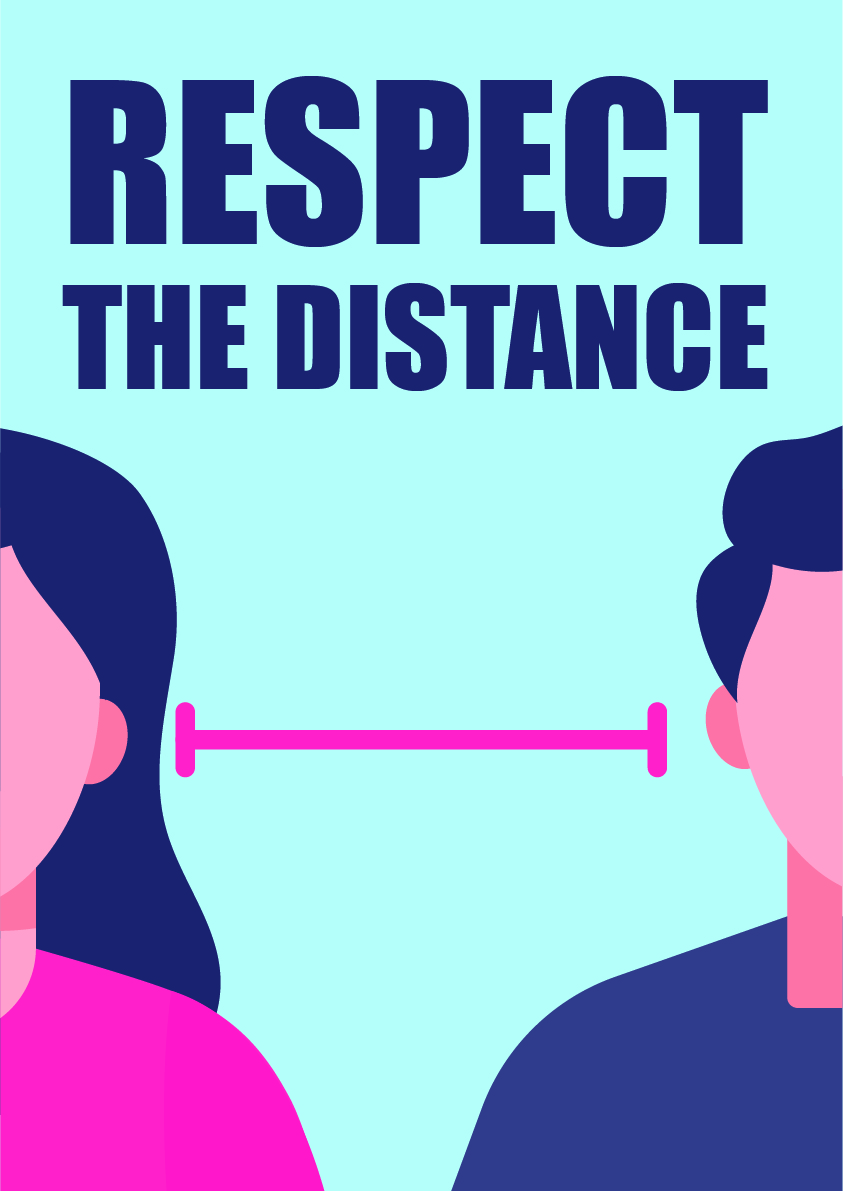 respect the distance 3