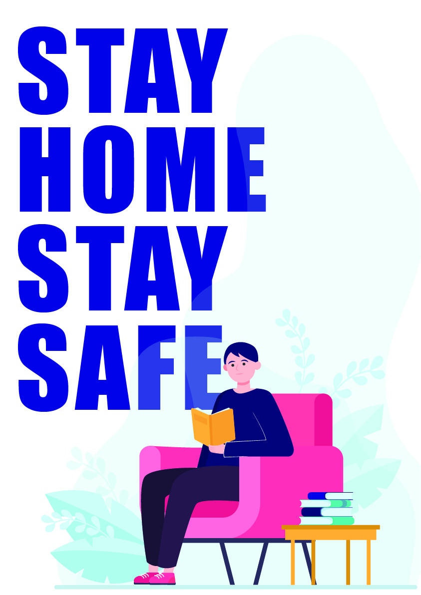 stay home stay safe 2